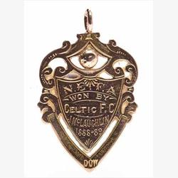 セルティック1889年優勝メダル