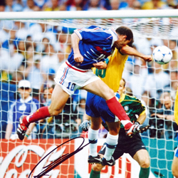 ジダン実使用1998W杯決勝ユニフォーム