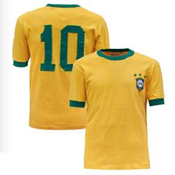 ペレ実使用ブラジル代表ユニフォーム