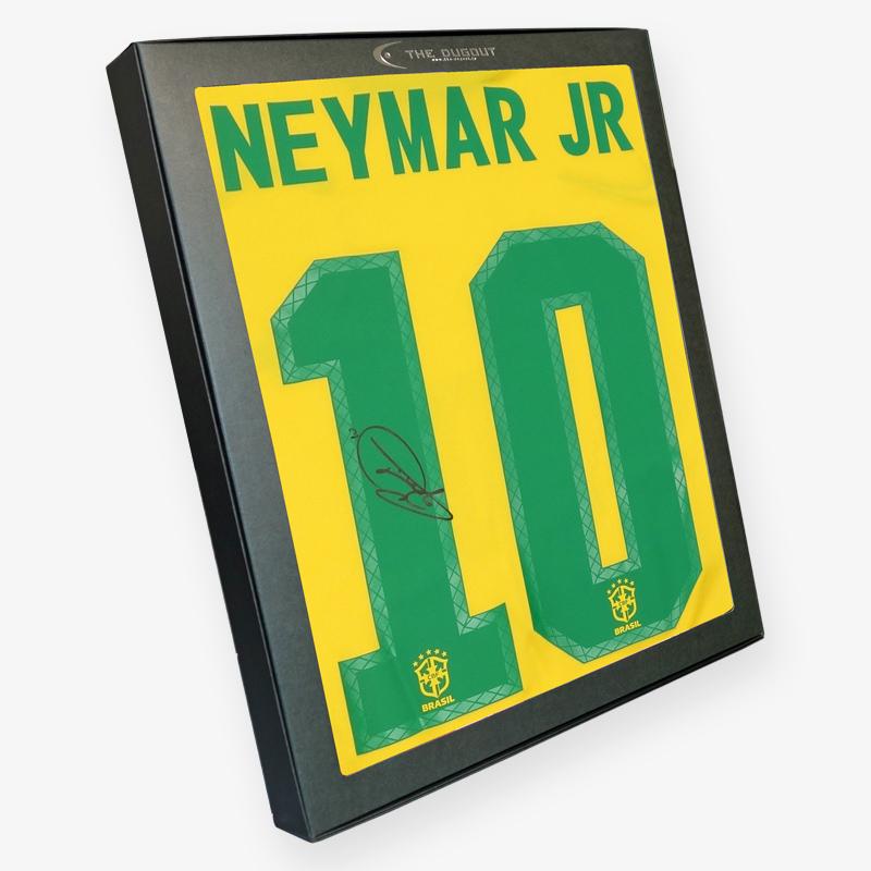 ネイマール直筆サイン入りブラジル代表20/21ホームユニフォーム